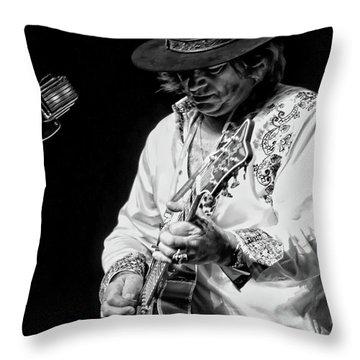 Dr. Phil Bw Throw Pillow by John Loreaux