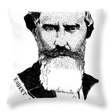 Dr. Robert Newell Throw Pillow
