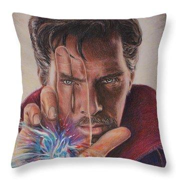 Dr. Strange Throw Pillow