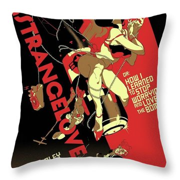 Dr. Strangelove Theatrical Poster Number One 1964 Throw Pillow