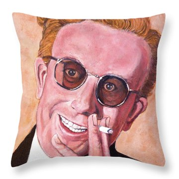 Dr Strangelove  Throw Pillow