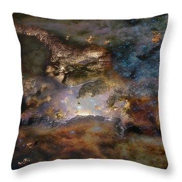 Dragon Watches.... Throw Pillow