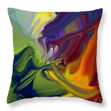 Dragon Breath Throw Pillow