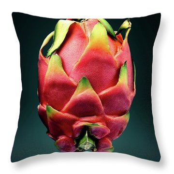 Dragon Fruit Or Pitaya  Throw Pillow