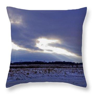 Dragon Light Throw Pillow