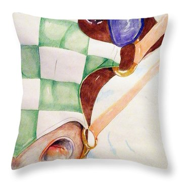 Dragon Slayer Throw Pillow