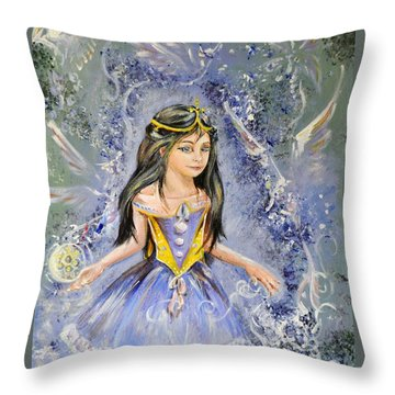Dragon Song Throw Pillow