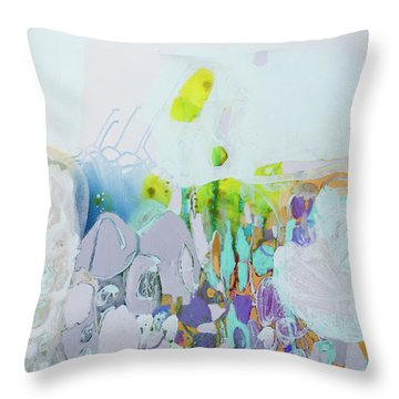 Dragonflies In May Throw Pillow