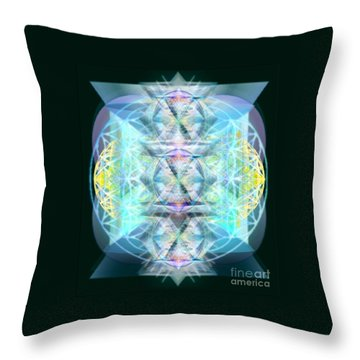 Dragon's Chalice Throw Pillow
