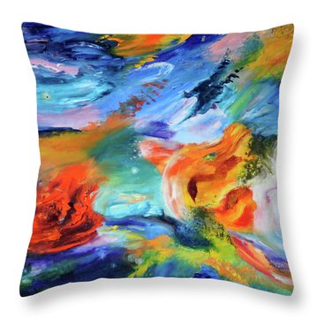 Dragon's Head Nebula Throw Pillow