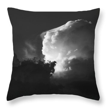 Drama In A Western Sky Throw Pillow