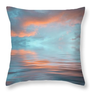 Drama Throw Pillow by Jerry McElroy