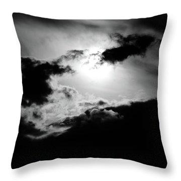 Dramatic Clouds Throw Pillow