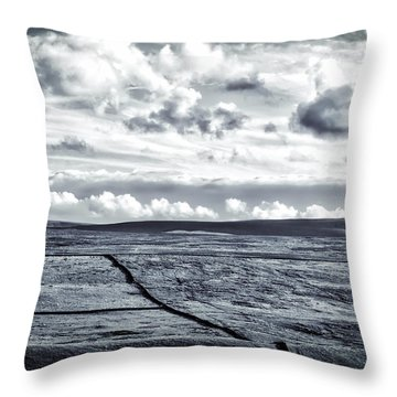 Dramatic Landscape  Throw Pillow by RKAB Works