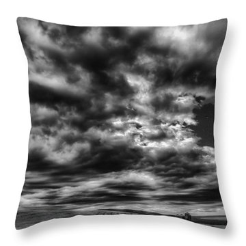 Dramatic Palouse Sky Throw Pillow by Chris McKenna