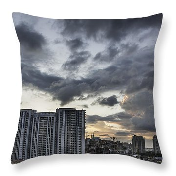 Dramatic Throw Pillow by Rajiv Chopra