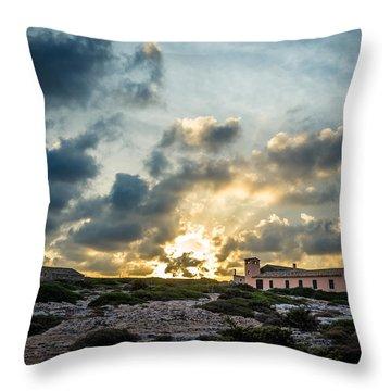 Dramatic Sunset Throw Pillow