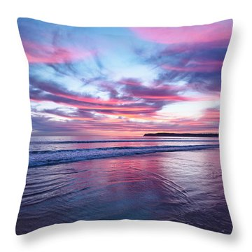 Throw Pillow featuring the photograph Drapery by Dan McGeorge