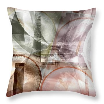 Drawing On A Frozen Lake Throw Pillow