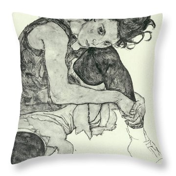 Drawings I Throw Pillow