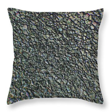 Drawn Pebbles Throw Pillow