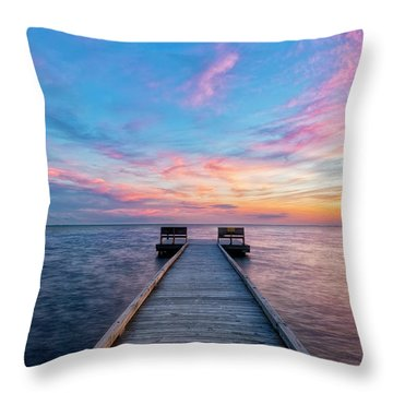 Drawn To Beauty Throw Pillow