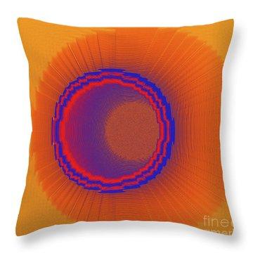 Drawn Within Throw Pillow