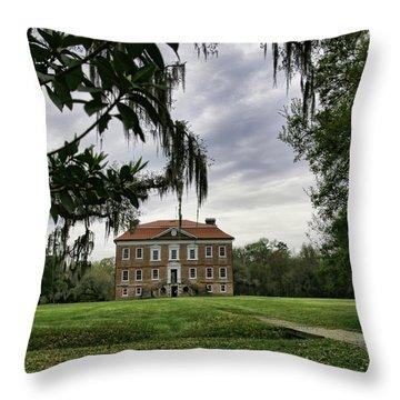 Drayton Hall II Throw Pillow