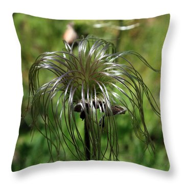 Dreadlocks Throw Pillow