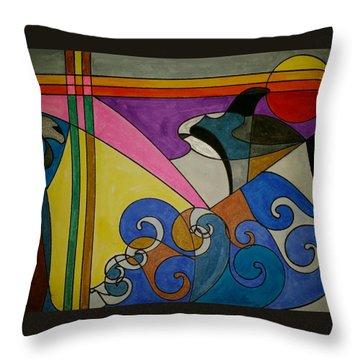 Dream 176 Throw Pillow