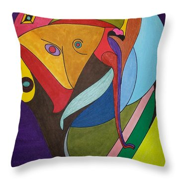Dream 287 Throw Pillow