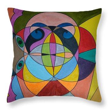Dream 295 Throw Pillow