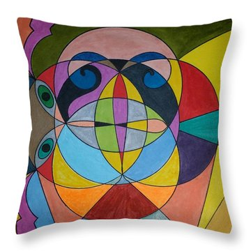 Dream 295 Throw Pillow