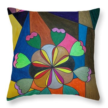 Dream 302 Throw Pillow