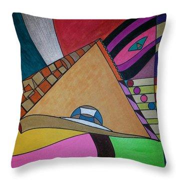 Dream 304 Throw Pillow