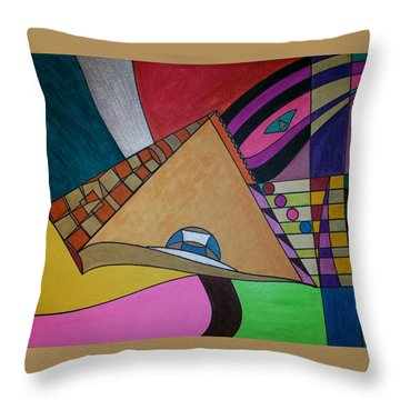 Dream 304 Throw Pillow