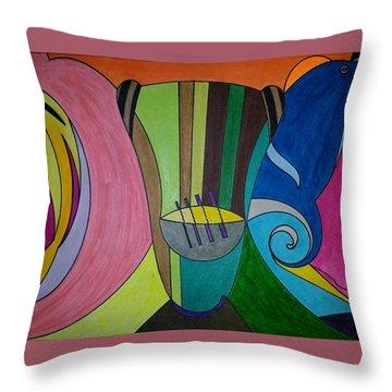 Dream 305 Throw Pillow