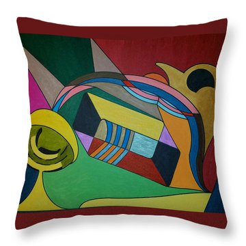 Dream 306 Throw Pillow