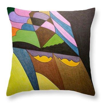 Dream 321 Throw Pillow