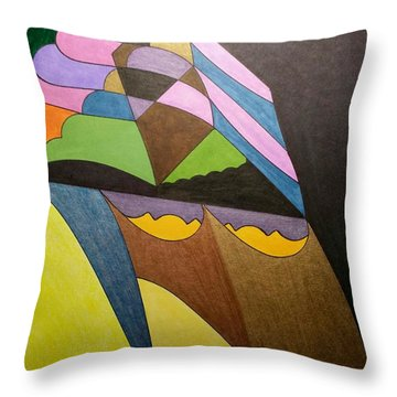 Dream 321 Throw Pillow