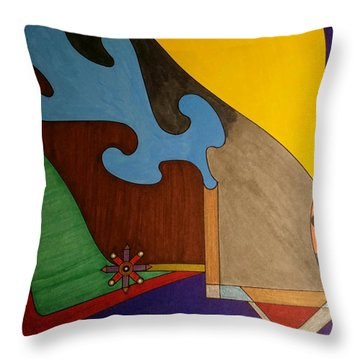 Dream 323 Throw Pillow