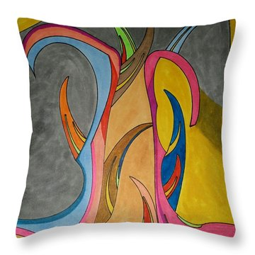 Dream 324 Throw Pillow
