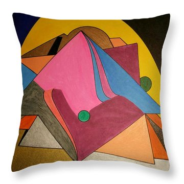 Dream 327 Throw Pillow