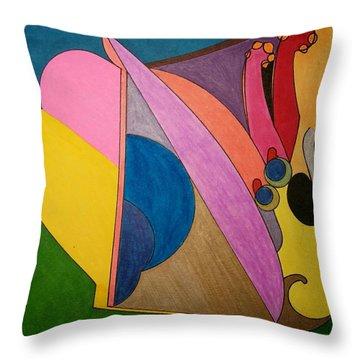 Dream 328 Throw Pillow