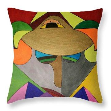 Dream 331 Throw Pillow