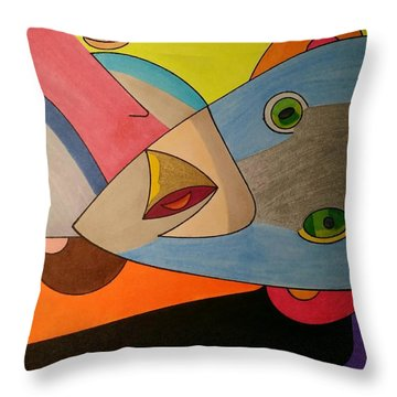 Dream 334 Throw Pillow