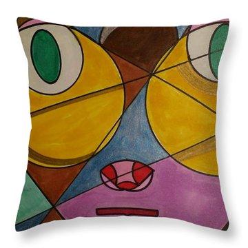 Dream 55 Throw Pillow