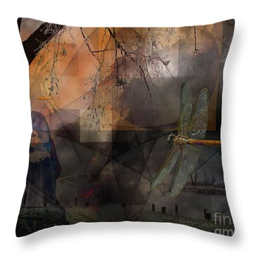 Dream Bearers Throw Pillow by Mimulux patricia no No