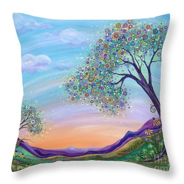 Dream Big Throw Pillow by Tanielle Childers