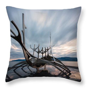 Dream Boat Throw Pillow